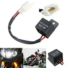 1X 2-Pin Electronic Led Flasher Relay FIX Motorcycle Turn Signal Light Lamp 12V