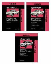 Bishko OEM Repair Maintenance Shop Manual Bound for Toyota T 100 1995