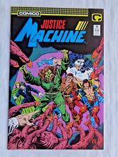 Justice League No. 13 Jan. 1988 Comico The Comic Company First Printing NM (9.4)