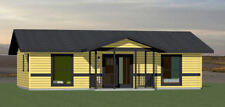36x24 House -- 2 Bedroom 2 Bath -- 864 sq ft -- PDF Floor Plan -- Model 1B