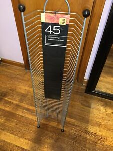 DVD/BluRay Disk Rack Metal Tower New