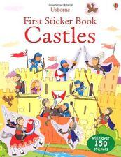 Castles (Usborne First Sticker Books),New Condition