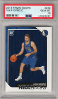 **Luka Doncic** 2018 Panini Hoops #268 RC Rookie PSA 10 Gem Mint!!