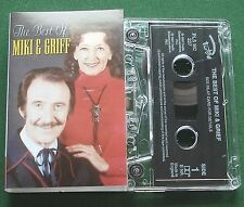 The Best of Miki & Griff 26 Tracks inc Vaya Con Dios + Cassette Tape - TESTED