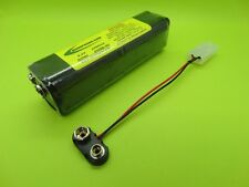 2500mA Tx BATTERY FITS JR MAX 6 TRANSMITTER / 2508B-9V / MADE IN USA