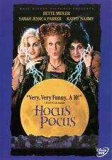 Hocus Pocus: Disney Halloween Witch Movie Bette Midler Sarah Jessica Parker DVD