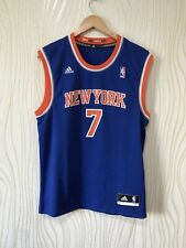 NEW YORK KNICKS BASKETBALL SHIRT JERSEY ADIDAS # ANTHONY