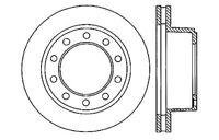 Centric Parts 121.66018 Rear Disc Brake Rotor