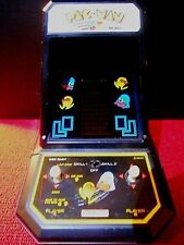 1981 COLECO PAC-MAN TABLE TOP MINI ARCADE GAME BY MIDWAY N0. 2390 *WORKS*