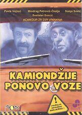 KAMIONDZIJE PONOVO VOZE DVD Paja i Jare Komedija Ckalja SFRJ Srbija Film Miodrag