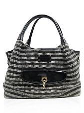 "Kate Spade Black and White Striped ""Colwyn Bay Stevie"" Carryall Tote Handbag"