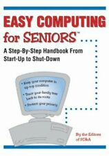 (Very Good)1890957712 Easy Computing for Seniors,FC&A Publishing,Paperback,FC&A