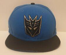 Transformers Decepticons New Era Baseball Cap Hat Snapback Megatron Blue Black