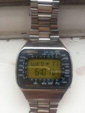 Seiko Stainless Steel Strap Digital Wristwatches