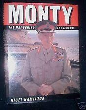 MONTY-The Man Behind The Legend-Nigel Hamilton-1987-1st Hardback, First Edition