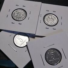 World 1921 German 5 Pfennig : Silver Toned : #Pf1 *Ml* *Volume Discounts!*