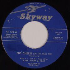 Miss Louise Lewis & Three Mice: Christmas Novelty Skyway Soul 45 Hear