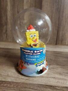 Spongebob Bubble Bath Glitter Globe Collectible New