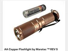 Maratac Copper AA Flashlight Rev 5 (205 Lumens) New!