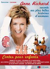 ANNE RICHARD - HISTOIRES DE PRINCES ET DE PRINCESSES, COFFRET 2 CD AUDIO (NEUF)