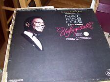 LONGINES PRESENTS NAT KING COLE UNFORGETTABLE-6 LP-NM(MISSING LP-1)