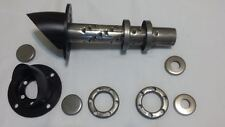 """Speedway 3.5"""" Lakester Baffles Lake Header Mufflers Silencers With Turn Outs Kit"""