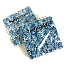 Marimekko Paper Napkins Meriheina Blue 2 Packages Of 20 Count