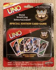 NEW Vintage WWE Edition of UNO – RARE Special Edition Card Game Tin WWF