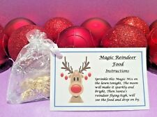 Magic Reindeer Food - Christmas Eve Box - Christmas Traddition - Dust - White