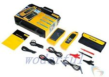 Genuine Fluke 2042 Cable Locator (Transmitter + Receiver) + Leads, Probes, Case