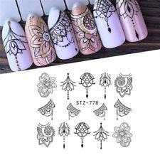 13 Sheets Nail Stickers Mixed Designs Water Transfer Nail Art Sticker Decal DIY