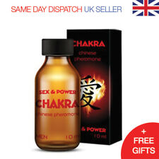 CHAKRA PHEROMONES 10ml for MEN strong & seductive ORIENT - Attract Women Fast