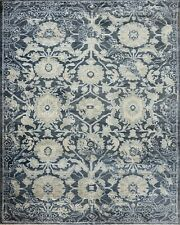 8'x10' Rug | Hand Made  Hand Knotted Wool & Viscose  Multi  Area Rug