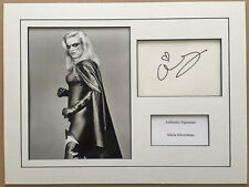 ALICIA SILVERSTONE AUTHENTIC SIGNED 16X12 MOUNTED DISPLAY AFTAL & UACC [12780]