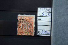 FRANCOBOLLI ITALIA REGNO USATI S.C. N°2 (A15804)