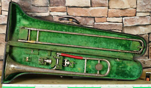 Slide Trombone King By H.N.White Co Clev. #107210 Proportion