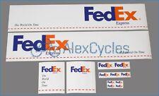 Tamiya 14th Scale 56319 Truck Reefer Box Trailer Decals Sticker POST FedEx+ GIFT