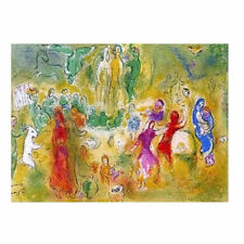 CH0031 - CHAGALL - Dafhnis and Chloe - AUTHENTIC 1977 Vintage Lithograph