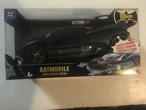 NIB 2004 Mattel Batmobile From The Batman Cartoon ANIMATED Series