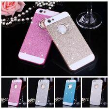 Handy Schutz Hülle Glitzer Strass Diamant Tasche iPhone Case Bumper Back Cover