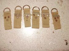 """loops German Army WW2 belt STRAPS """"D"""" RINGS trophy Africa corps nato military 6"""