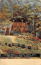 Elmira New York~Roricks Glen Park~Summer House~Electric Flower Beds~1918