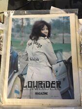 6 RARE Low rider Magazines vol 1 issue 1,2,3,4,5,12.(1977)