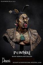 DG Artwork Maori Warrior 1/9th resin Bust Unpainted kit