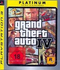 Playstation 3 GRAND THEFT AUTO 4 GTA 4 * DEUTSCH Platinum Neuwertig