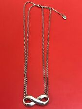 """James Avery Sterling Silver Infinity Necklace Adjustable 16-18"""""""