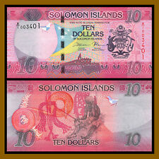 Solomon Islands 10 Dollars, 2017 P-New Unc