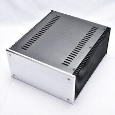 2412B full aluminum amplifier chassis class A enclosure HIFI preamp box psu case