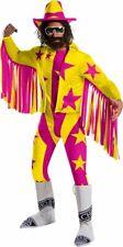 Rubies WWE Macho Man Randy Savage Deluxe Adult Mens Halloween Costume 700956