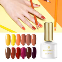 BORN PRETTY 6ml Pure Tips Gel Polish Pumpkin Colors Soak Off Nail Art UV Gel
